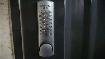 デジタルドアロック外